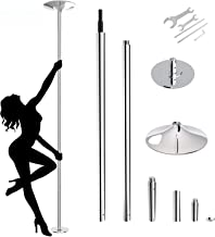 amzdeal Dancing Pole 45mm Spinning Stripper Pole Portable Removable Pole Kit for Beginner..