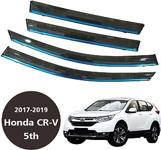 4/Pezzi Autoclover Honda HR-V 2014/ frangivento Set Affumicato