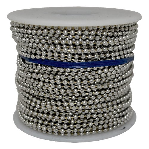 Ball Chain Number 6 Spool Stainless Steel 100 Feet