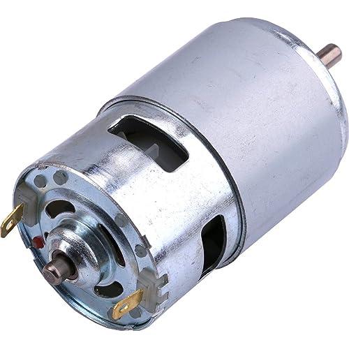 Yeeco 775 DC 12V Motor Mini Eléctrico Motor, 4500RPM Alto Velocidad Pelota Cojinete Eléctrico Corriente