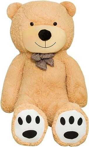 Venta al por mayor barato y de alta calidad. TEDBI Oso de Peluche Gigante Gigante Gigante 200cm   Beige   Gran Oso Gigante de Peluche de Juguete de Regalo de cumpleaños XXL Teddi Bear  nuevo sádico