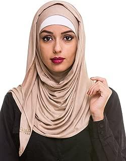Kashkha Women's Ready To Wear Instant Hijab Scarf