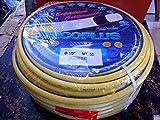 tubo 'tricoplus' tubo coestruso in 6 strati antitorsione, di altissima qualità costruttiva. esterno giallo - interno bianco.