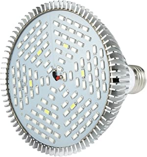 Aexit 80W (Lighting fixtures and controls) LED Grow Light Lamp Bulb Full Spectrum For Plant Hydroponic (58ry474qf258) Flow...