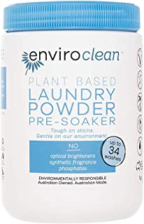 Enviroclean Plant Based Laundry Powder and Pre-Soaker 1 kg, 1 kilograms