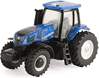 ERTL Collect N Play Toy Tractor - New Holland Modern Cab with MFD