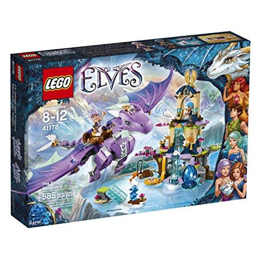 LEGO Elves 41178 The Dragon Sanctuary Building Kit (585 Piece) by LEGO