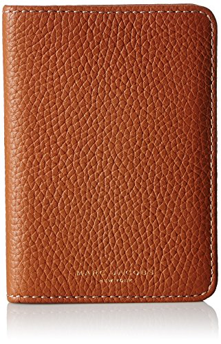 Marc Jacobs Women's Gotham Passport Cover, Maple Tan