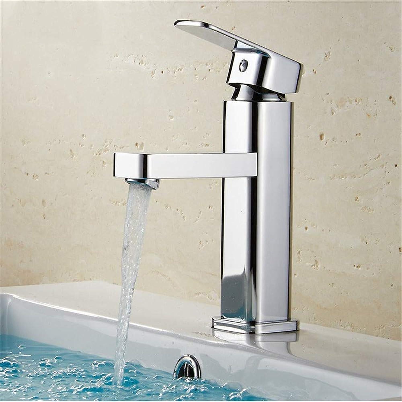 Brass Chrome Modern Waterfall Bathroom Mixer Shower Faucets Bathroom Water Deck Mounted Sink Faucet