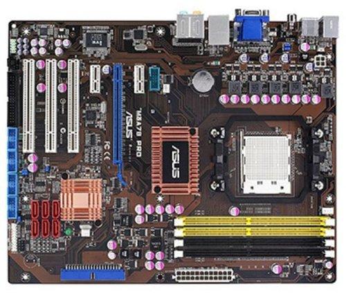 Asus M4A78 PRO ATX Mainboard (Sockel AM2/AM2+, on Board VGA (512MB), HT3 5200 MHz FSB)