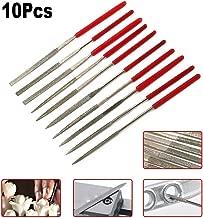 Mini Diamond Coated Needle File Set for Grinding, Polishing and Engraving Jewlery Glass Stone 2mmx100mm Pack-10