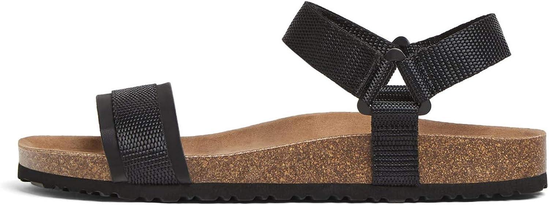 Zara Men's Contrasting Sandals 2718 002