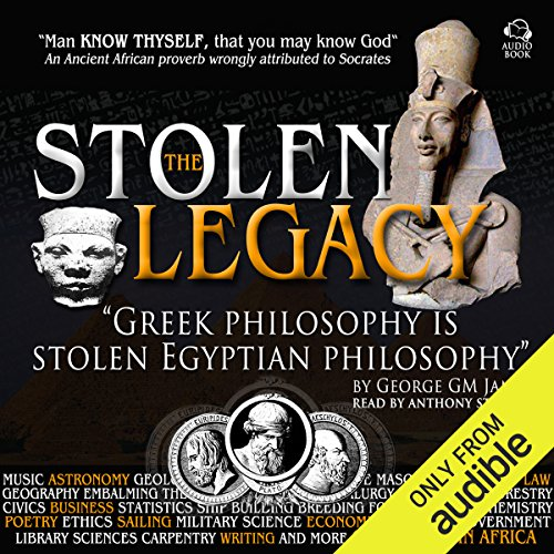 The Stolen Legacy audiobook cover art