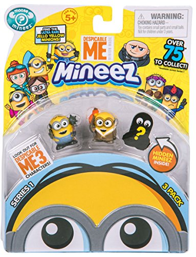 Despicable Me Mineez Series 1 Character Pack