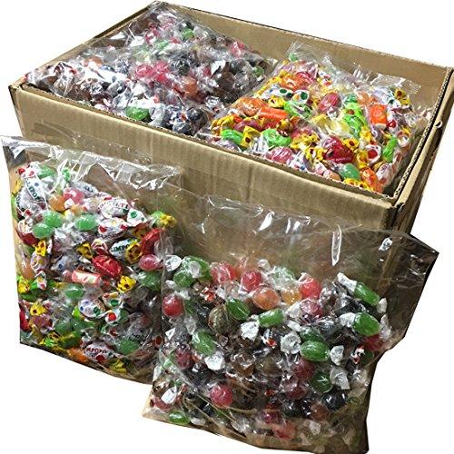 10 kg Bonbonmischung Bonbons Wurfmaterial Karneval Fasching Umzug WURFWARE FETE FEIERN GEBURTSTAG verpackt in 10 Einheiten à 1 kg in Europa hergestellt Super Qualität