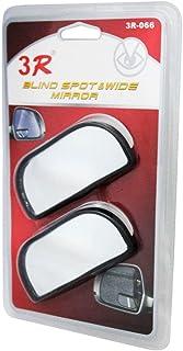 Speedwav 22737 291 3R Wide Rectangle Car Blind Spot Side Rear View Mirror (Set of 2)