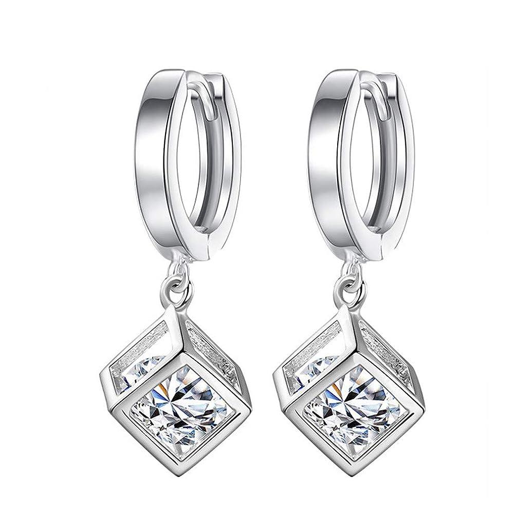 自分の単位より良いNicircle ファッション気質の女性キュービックジルコンの耳クリップ女性の耳の宝石類 Fashion Temperament Ladies Cubic Zircon Ear Clip Ladies Ear Jewelry