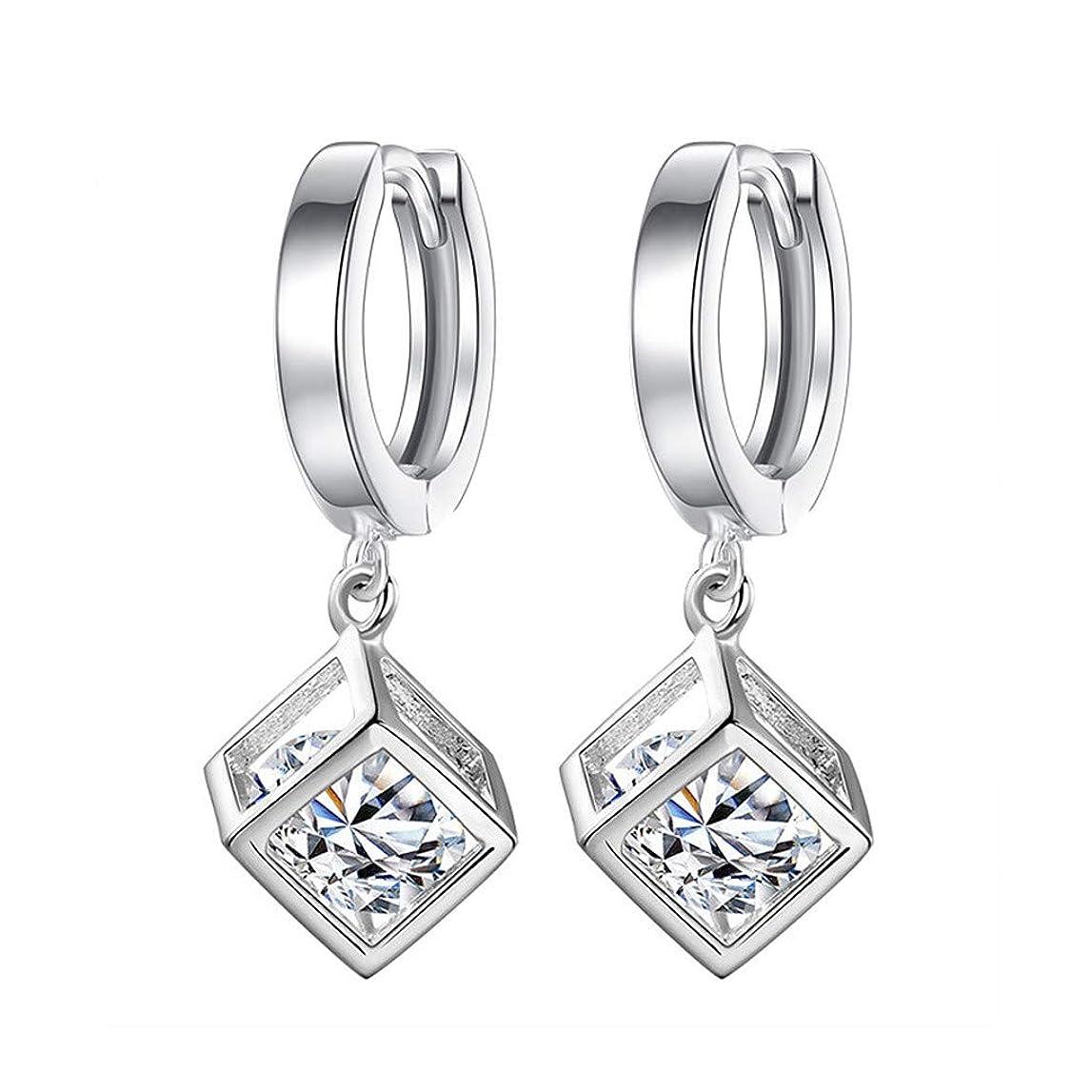 クライストチャーチ影響を受けやすいですエーカーNicircle ファッション気質の女性キュービックジルコンの耳クリップ女性の耳の宝石類 Fashion Temperament Ladies Cubic Zircon Ear Clip Ladies Ear Jewelry
