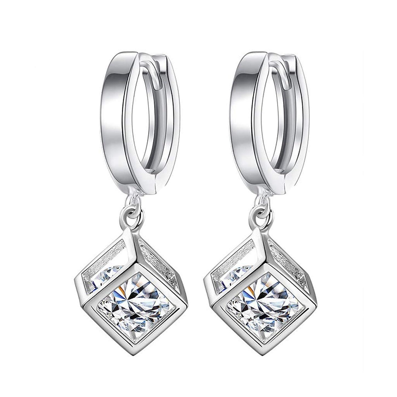 一般化するうれしい比較的Nicircle ファッション気質の女性キュービックジルコンの耳クリップ女性の耳の宝石類 Fashion Temperament Ladies Cubic Zircon Ear Clip Ladies Ear Jewelry