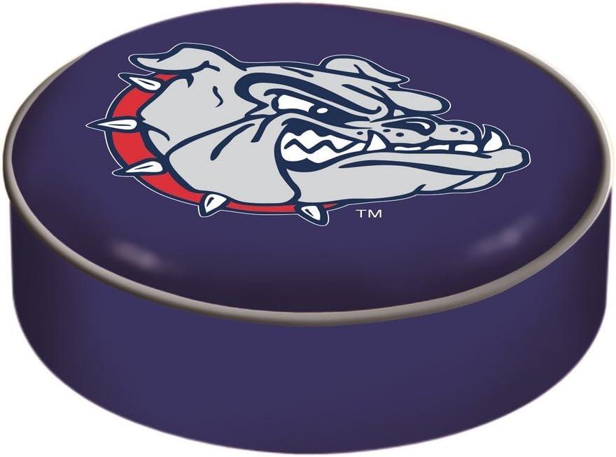 Gonzaga Ranking TOP1 Bulldogs HBS Navy Vinyl Elastic Bar Slip Limited price Seat Stool Over