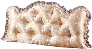 Confortable Double dossier, Coussins de canapé de chevet princesse Oreillers Oreillers lombaire taille ceinture Oreillers ...