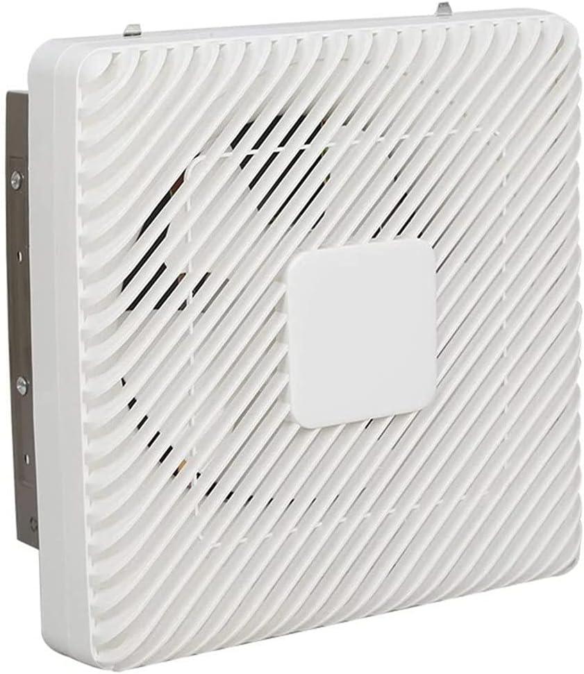 Yousiju Extractor de baño, extractor de cocina, ventilador de ventilación, ventana de cocina de 10 pulgadas, extractor de humos, baño doméstico, pared potente