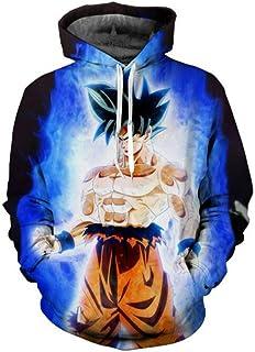 Dragon Ball Z Womens Mens Sweatshirts Hoodies 3D Print Goku Anime Graphic Coats
