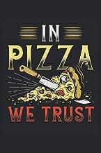 Notizbuch: Blanko Notizheft mit Pizza Cover |120 linierte Seiten | Softcover | A5 Format | perfekt für Notizen, Texte, Auf...