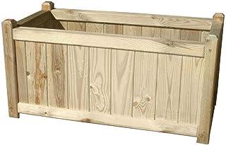 comprar comparacion PAPILLON 8043035 Panel Celosia Madera con Jardinera 75x30x180 cm