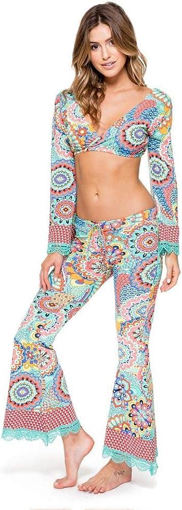 Luli Fama MARIPOSITA CARIBEÑA - Boho Pant - XS/Multicolor