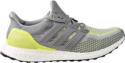 adidas Men's Ultraboost ATR LTD Running Shoes CharocalSolidGrey/Grey/SolarYellow