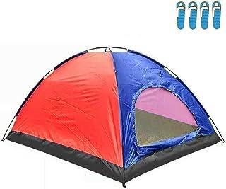 hyu Tienda de Campaña para 4 Personas Impermeable Acampar C