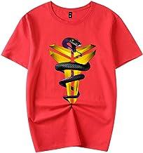 ACEGI de Baloncesto Kobe Bryant Negro Mamba Camiseta de algodón de los Deportes de Verano de Manga Corta y Cuello Redondo Hombres