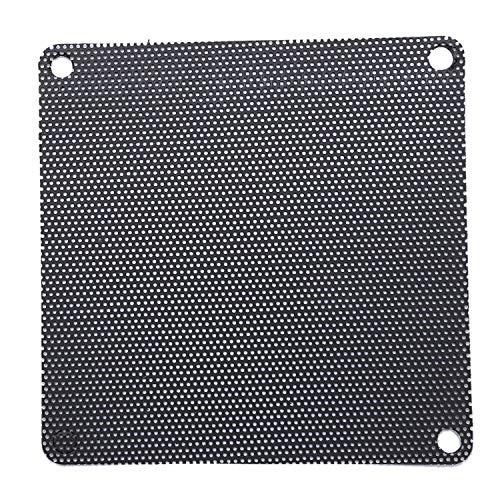 Bobin 6 Piezas 8cm Caja de Pc PVC de Malla de Computadora Caja de Filtro de Polvo de Enfriador Ventilador Cubierta A Prueba de Polvo Cubierta de Polvo del Chasis