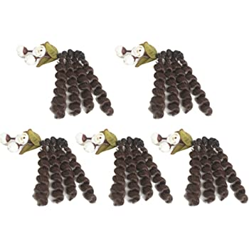 RINGLETS Craft PACK of 1 Curly DOLL HAIR Color ORANGE