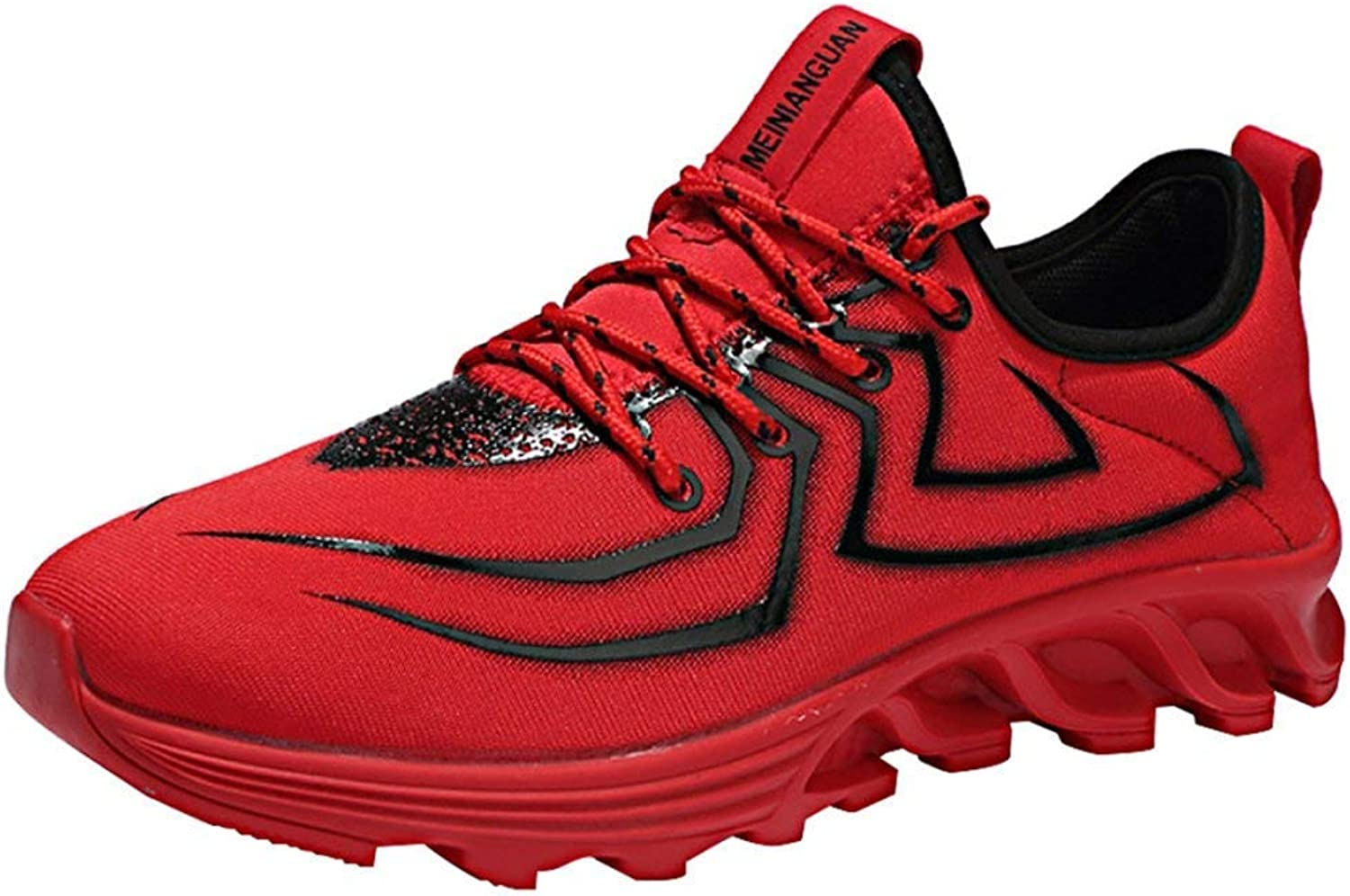 FuweiEncore Men's Summer Running shoes Fashion Sneakers (color   6, Size   41EU 8US)