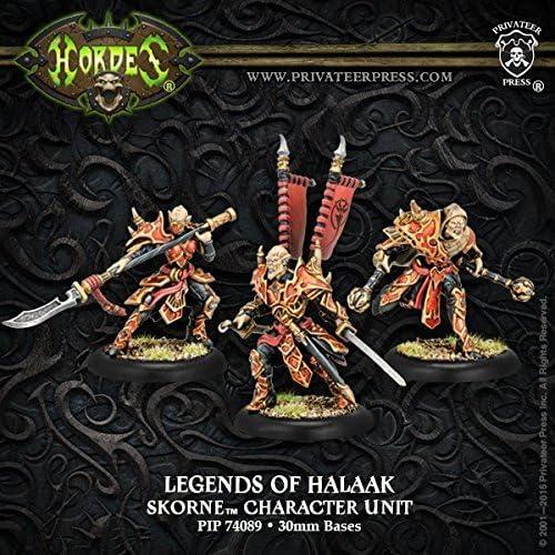 Hordes  Skorne Legends of Halaak Praetorian Character Unit by Hordes