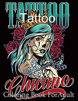 Tattoo Coloring Book For Adult  50 Beautiful Modern Tattoo Designs Such As Butterflies Flowers Skulls Snakes and More !   Relaxation Tattoo Coloring Book for Adult
