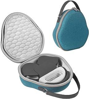 Jasinber Estuche rígido para Transporte de Auriculares - Compatible con AirPods MAX (Lago Azul)