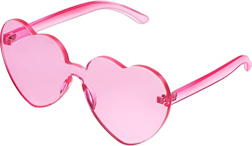 Maxdot Heart Shape Sunglasses Party Sunglasses