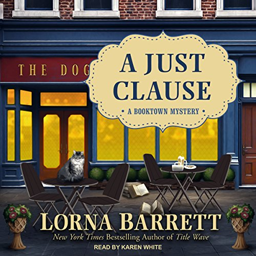 A Just Clause audiobook cover art