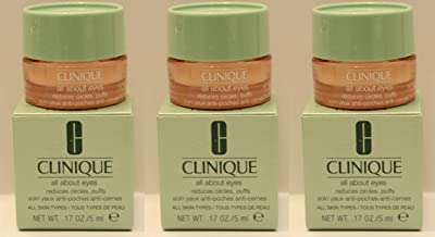 Best clinique all about eyes reduces circles puffs 5ml Reviews
