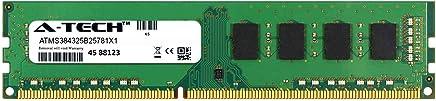 A-Tech 8GB Module for GIGABYTE GA-990XA-UD3 Desktop & Workstation Motherboard Compatible DDR3/DDR3L PC3-12800 1600Mhz Memory Ram (ATMS384325B25781X1)