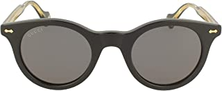 Gucci - Gafas de Sol GG0736S Black/Grey 47/24/145 hombre