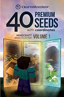 40 Premium Seeds with Coordinates: Minecraft Seeds Collection, Volume 1