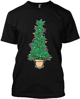 Marijuana Christmas Tree - Xmas 420 Stoner Men's T-Shirt
