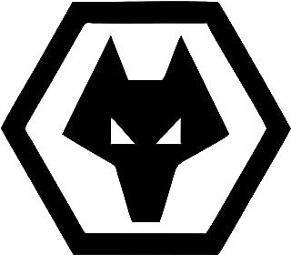 WOLVERHAMPTON WANDERERS Window Car Sticker// Graphic//Football TWIN PACK//Big Size