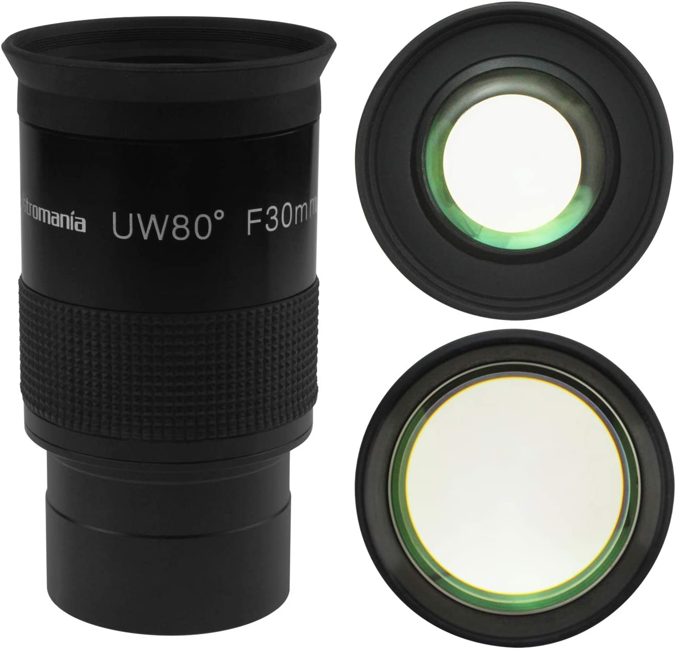 F15mm Astromania Fully Multi-Coated 2 Untra-Wide 80 Degree Eyepiece for Telescope