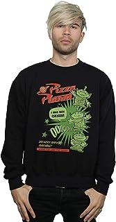 Disney Men's Toy Story 4 Pizza Planet Little Green Men Sweatshirt