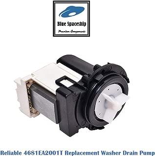 Reliable 4681EA2001T (AP5328388) Washer Drain Pump. Replacement Part Fits for LG Kenmore Washer and Replaces 4681EA1007G, 2003273, 4681EA1007D, 4681EA2001D, 4681EA2001N, 4681EA2001U, AH3579318, EA3579